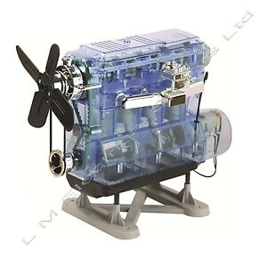 Combustion Engine Kit By Haynes Build Your Own Petrol Engine Model /Toy