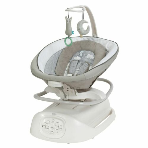 NEW Graco Sense2Soothe Baby Swing with Cry Detection Technology - White - Sealed
