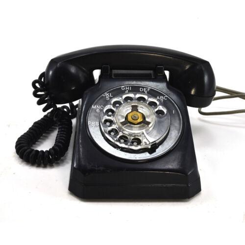 Vintage Black Rotary Stromberg-Carlson Desk phone