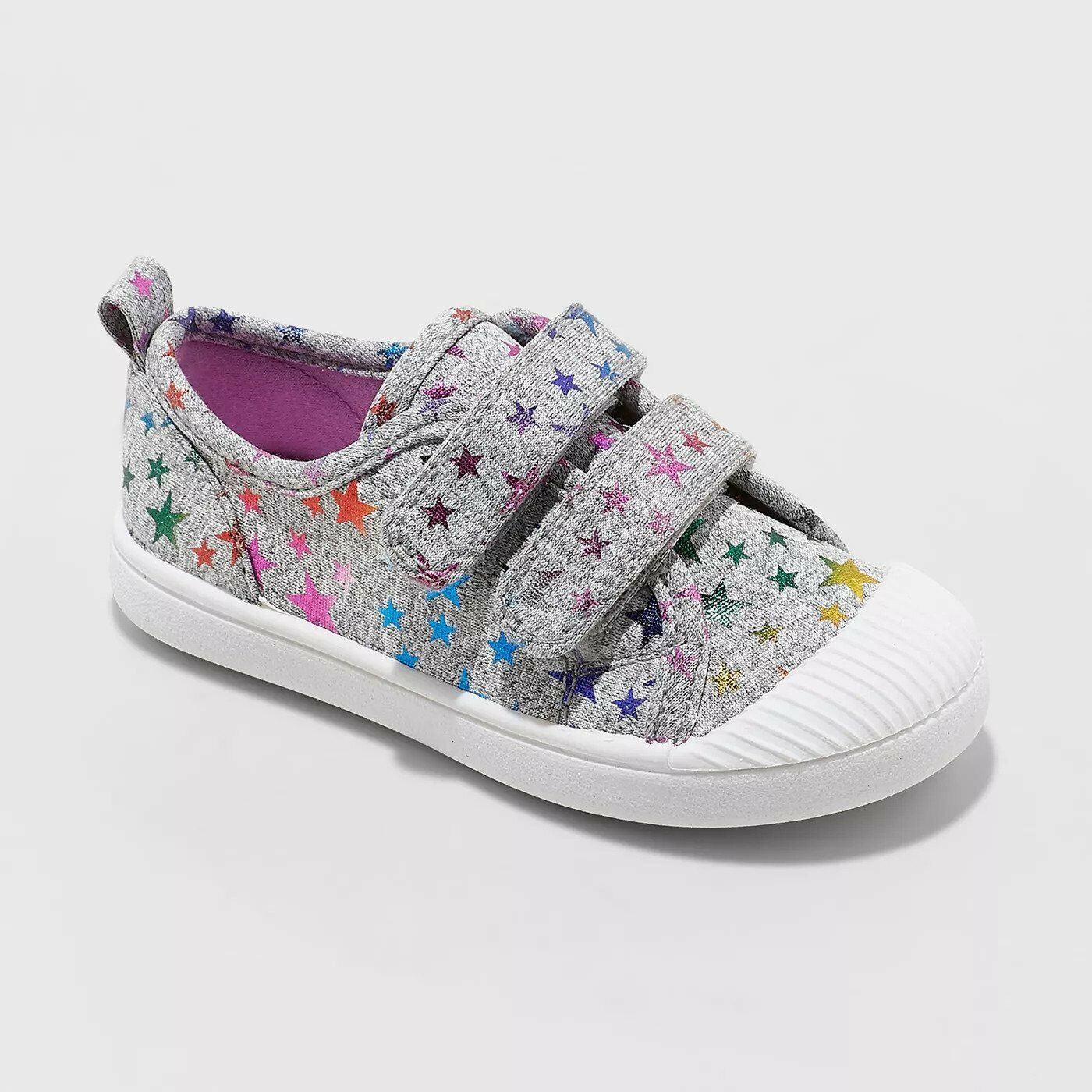 Toddler Girls Madge Adjustable Easy Close Sneakers 9 Gray w/