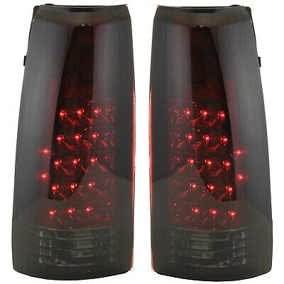Tail Light For 88-99 GMC K1500 Set of 2 Driver and Passenger Side