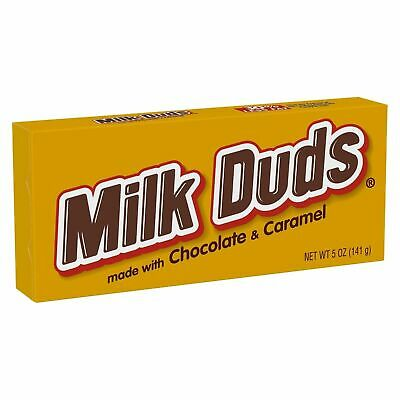 MILK DUDS Chocolate & Caramel Candy-Movie Theatre Box Size-5 oz ea {GLUTEN FREE}