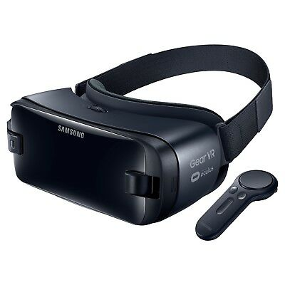 New Samsung Galaxy S9 S9 Plus Virtual Reality Gear VR Headset with Controller