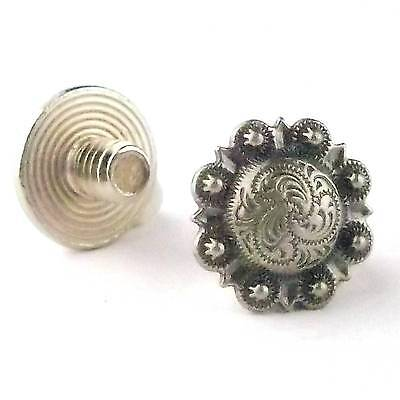 "Chicago Screws Antique Silver 1/4"" 10 Pack 3306-06 by Stecksstore"