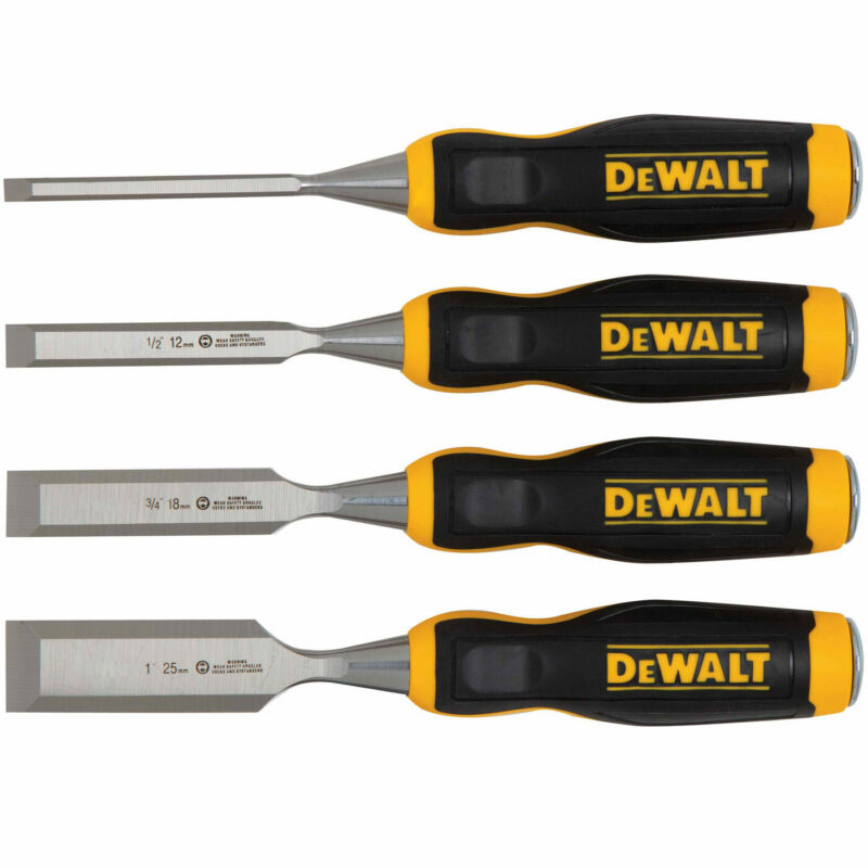DeWalt DWHT16063 Short Blade Wood Chisels  - 4 PC