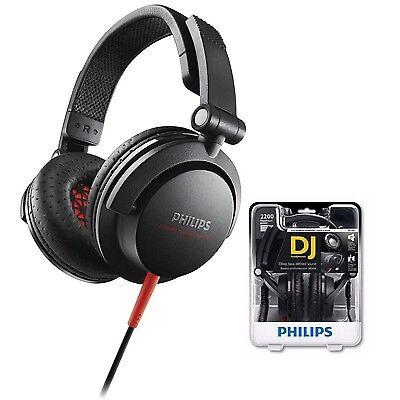 Philips SHL3300 Headband headphones DJ monitor style Black /GENUINE