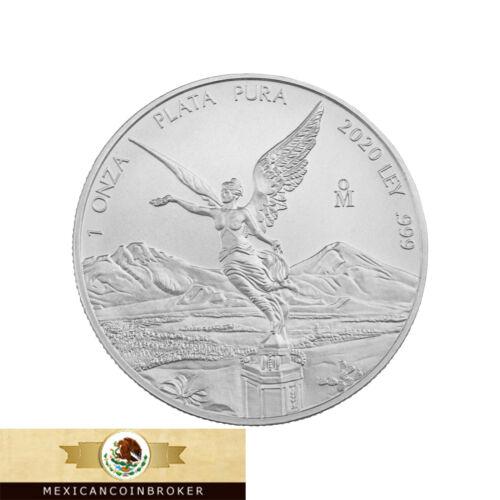 "2020 Mexico 1oz Silver Libertad Onza - BU *Treasure Coin Of Mexico ™"""
