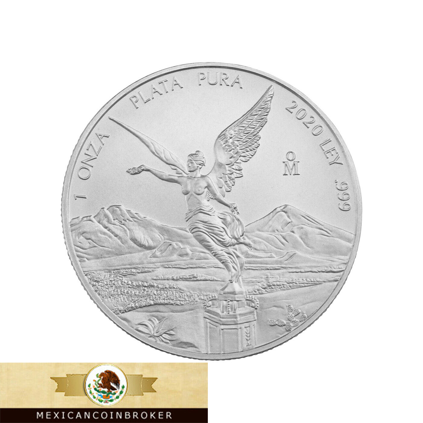 2020 Mexico 1oz Silver Libertad Onza - BU *Treasure Coin Of Mexico ™
