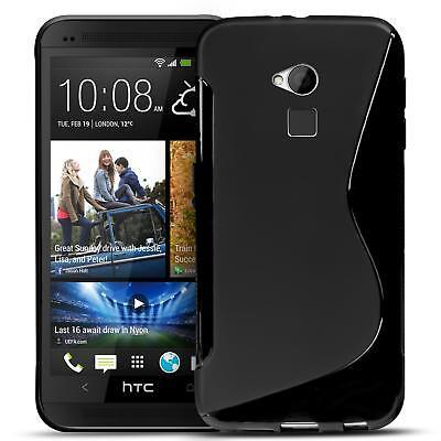 Handy Hülle HTC One Max Silikon Case Ultra Slim Cover Schutzhülle Tasche Schwarz Htc One Max Case