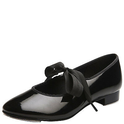 ABT Child's Black Patent Leather Tap Shoes Black Patent Leather Kids Shoes