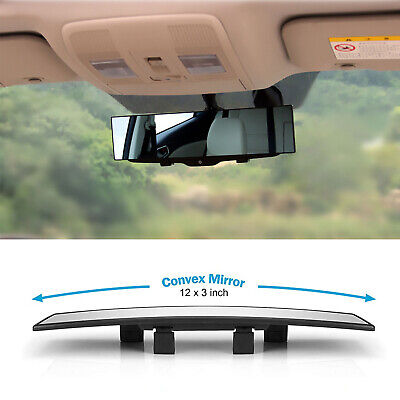 Universal 300MM HD Car Rear View Mirror Wide-angle Panoramic Rearview Mirror