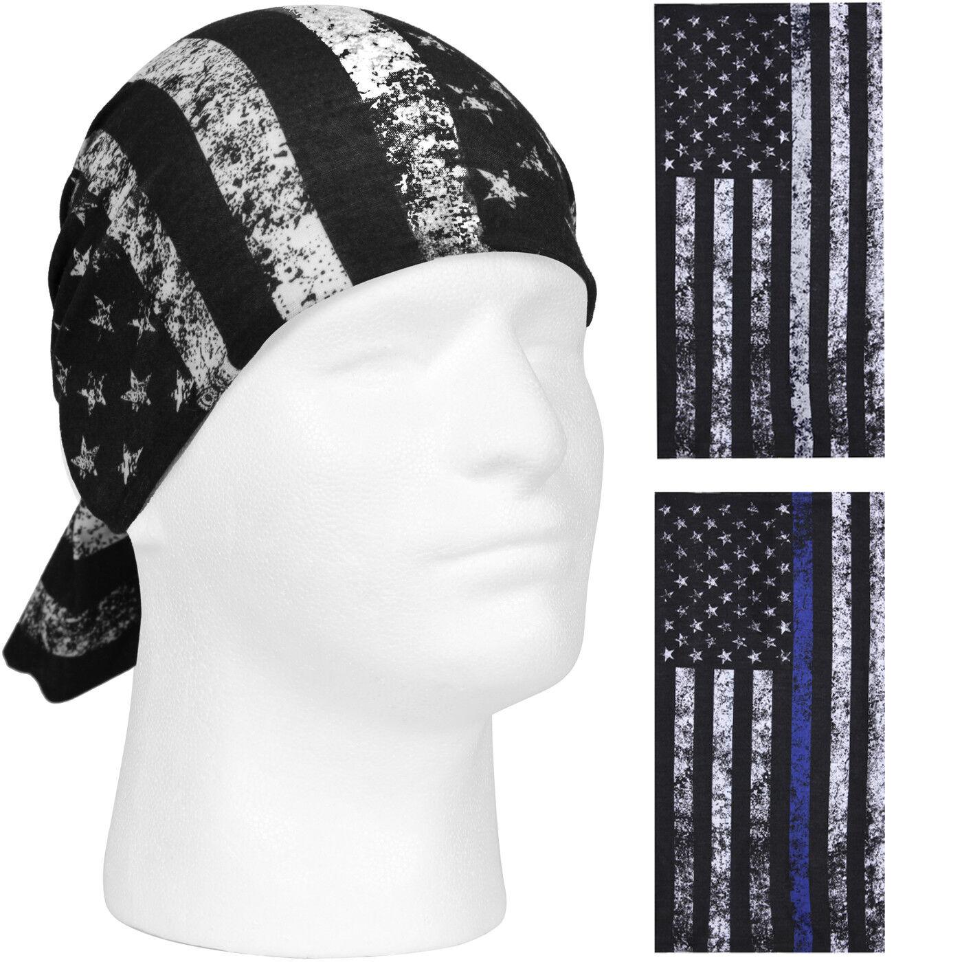 US Flag Tactical Head Wrap Bandana Face Neck Cover Scarf Gai