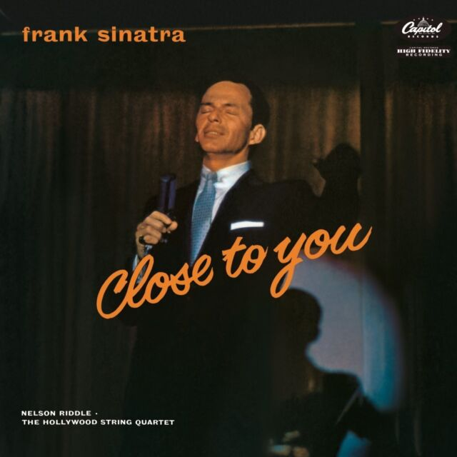 FRANK SINATRA - CLOSE TO YOU (LTD.LP)  VINYL LP NEU