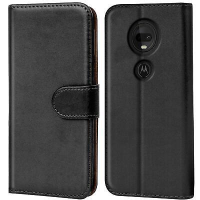 Book Case Motorola Moto G7 Power Hülle Tasche Klapphülle Flip Cover Handy Schutz