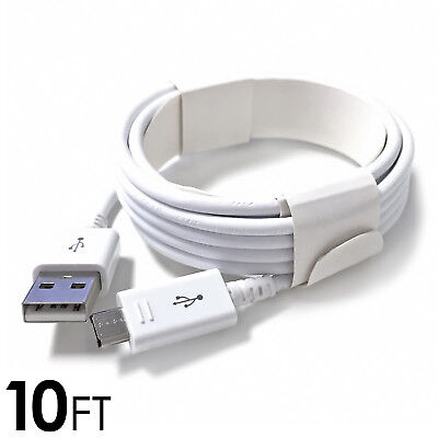 OEM MICRO USB CHARGER FAST CHARGING CABLE CORD SYNC FOR ANDROID CELL PHONE 10FT ()