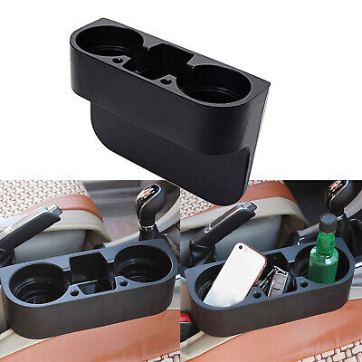 Universal Auto Front Car Seat Organizer Wedge Double Cup Holder For (Accessories Cup)