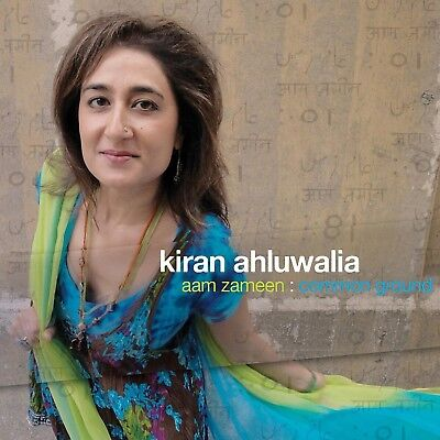 KIRAN AHLUWALIA - AAM ZAMEEN: COMMON GROUND  CD NEW+ , used for sale  Shipping to Canada