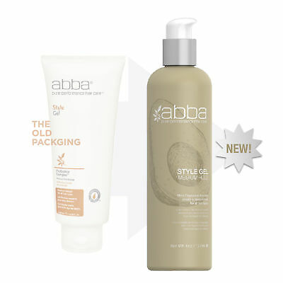 ABBA PURE PERFORMANCE STYLE GEL- 6 oz / 177 ml Abba Pure Style Gel