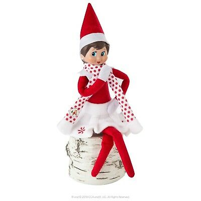 ELF ON THE SHELF SNOWFLAKE SKIRT & SCARF SET OUTFIT CLOTHES NO - Elf On Shelf Outfits