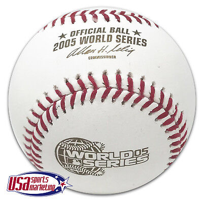 Rawlings 2005 World Series Official MLB Game Baseball Chicago White Sox - -