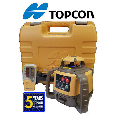 4 Four Topcon Rl-h5a Rotating Laser Levels -4 Db Packages Shipped In Two Boxes