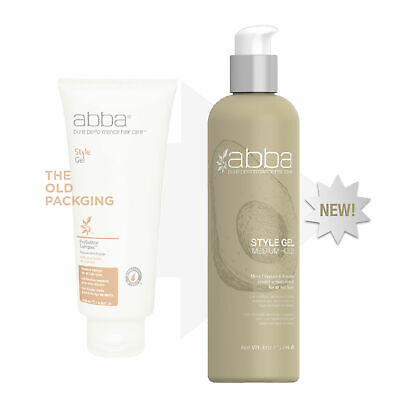 ABBA PURE PERFORMANCE STYLE GEL 6 oz - NEW & FRESH!!! Abba Pure Style Gel