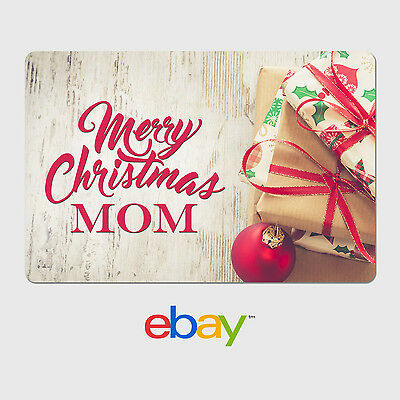 eBay Digital Gift Card - Holiday Themes - Parents - Email delivery