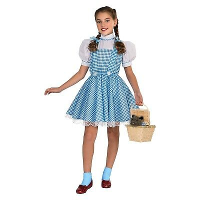 Dorothy Sequin Dress Girls M Medium 8-10 Child Costume The WIzard of Oz Kid