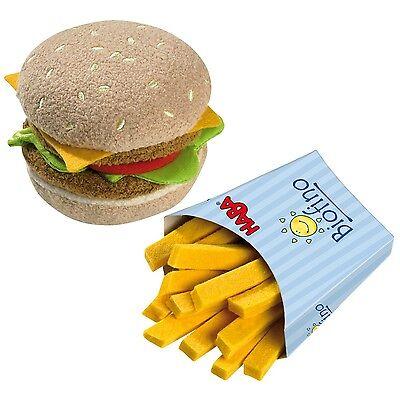 HABA Hamburger mit Pommes 1475 Biofino für HABA Kaufladen +BONUS