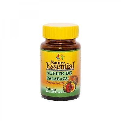 aceite semilla calabaza 500 mg 50 perlas nature essential