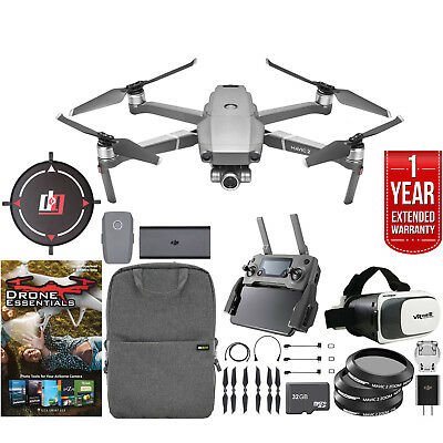 DJI Mavic 2 Zoom Drone with 24-48mm Lens Mobile Go Bundle and Extended Warranty