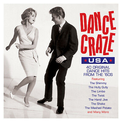 Dance Craze Usa VARIOUS ARTISTS Best Of 40 Dance Hits From The 60s NEW 2