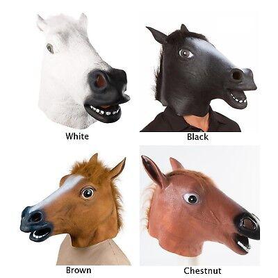 Funny Horse Head Mask Animal ZOO Cosplay Halloween Costume Theater Prop - Horse Head Mask Halloween