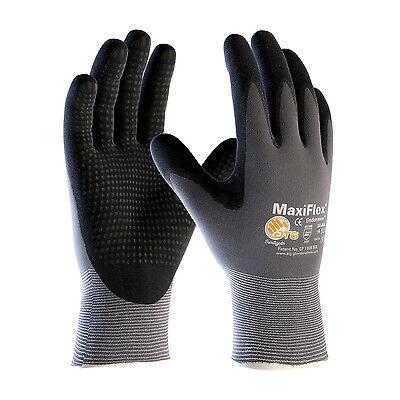 PIP 34-844 ATG MaxiFlex Endurance Micro-Dot Nitrile Coated Gloves 3 Pair LARGE
