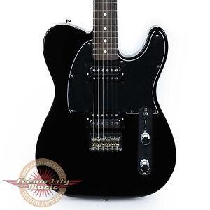 Brand-New-Fender-Standard-Telecaster-HH-Tele-Black-Demo