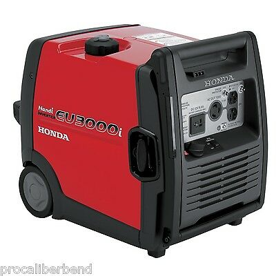 Honda EU3000i Handi By Honda Generators NIB Light Super Quiet 3000 Watt