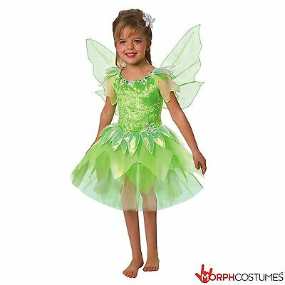 Girls Green Fantasy Fairy Fancy Dress Costume Great for  Halloween Party  (Great Costumes For Girls)