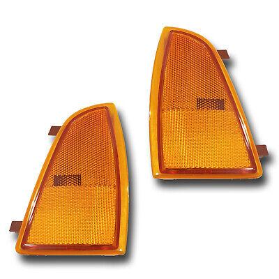 Fits 94-97 Chevrolet Blazer S10 Left + Right Side Marker Light Assembly 1 Pair