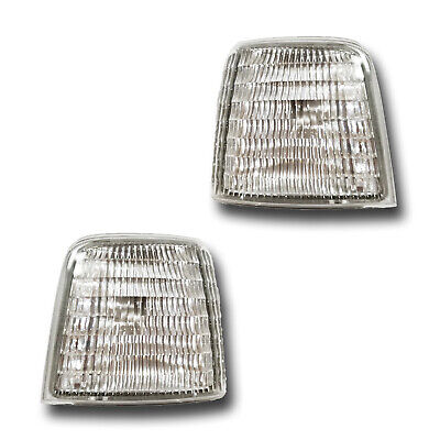 Fits 92-98 Ford Bronco F-150 F-250 F-350 Left + Right Side Marker Light 1 Pair
