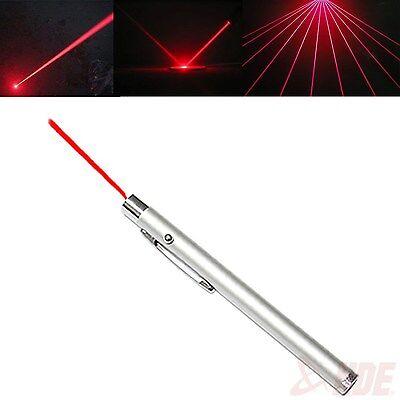 New Ultra Powerful 5mw 650nm Red Beam Light Laser Pointer Pen Lazer Presentation