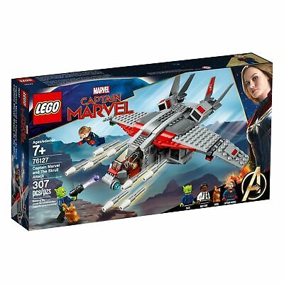 LEGO Marvel Super Heroes Captain Marvel And The Skrull Attack 76127 Kids Toy