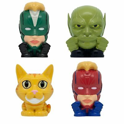 Complete set Of 4 MARVEL Captain Marvel Mashems SERIES 1 Capsules