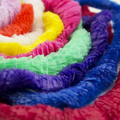 Hawaiian Leis Tropical Luau Party Favor Wedding Graduation Necklaces BULK - Bulk Leis