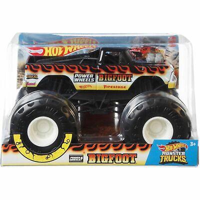 Hot Wheels 2020 Monster Trucks 1:24 Diecast Metal - Power Wheels BIGFOOT GJG82