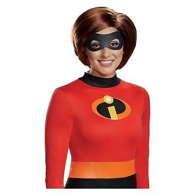 New !  Woman's The Incredible Mrs. Incredible Halloween Costume Wig