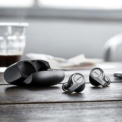 Soltekonline Jabra Elite 65t Titanium Black True Wireless Earbuds Manufacturer Refurbished