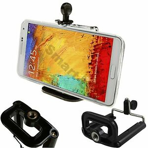 Smart-Mobile-Cell-Phone-Tripod-Holder-Clip-Fits-Apple-Samsung-Nokia-HTC-LG