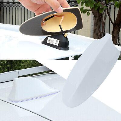 Pearl White Car Shark Fin Roof Antenna Radio FM/AM Aerial for Hyundai (Roof Fin)