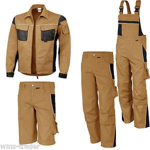 salopette de travail pantalon veste courts m trages menuisier v tement kaki ebay. Black Bedroom Furniture Sets. Home Design Ideas