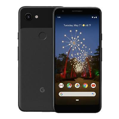 Unlocked - Google Pixel 3A - 64GB - Black - Smartphone